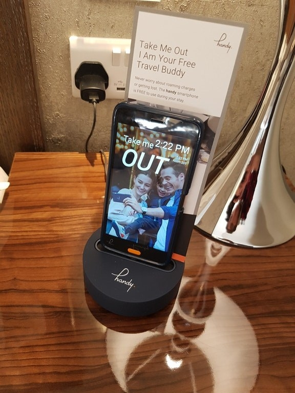This hotel provides a free smartphone to use in the city throughout your stay.