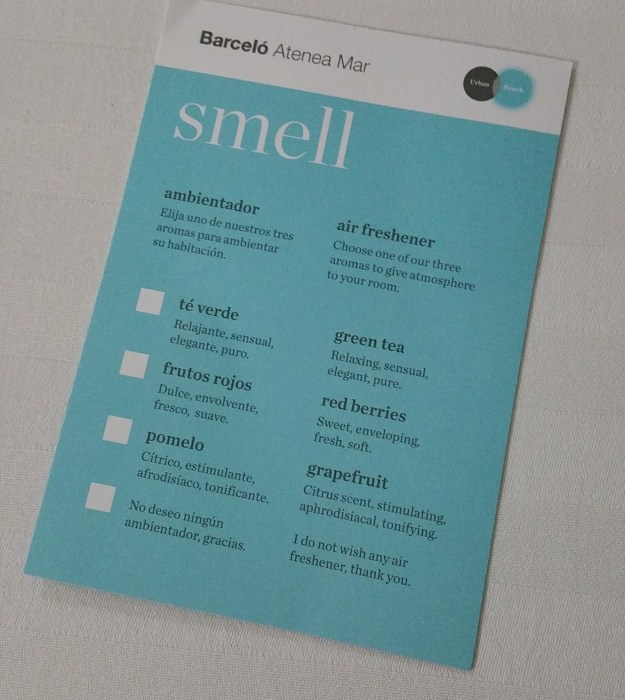 This hotel lets guests pick a scent for their room.