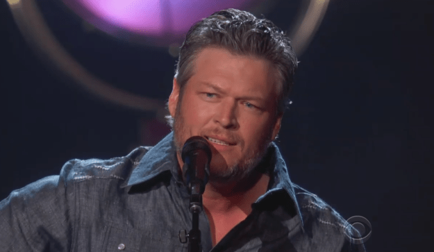 """Blake looked damn near perfect as he performed his song """"I Lived It."""""""