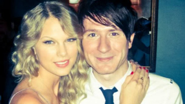 The song was rumored to be about Adam Young, the singer of Owl City. The two met in NYC, and while they never dated, sparks flew.