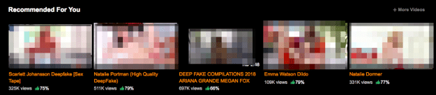 Similarly, Pornhub's algorithms appeared to be promoting the nonconsensual content.