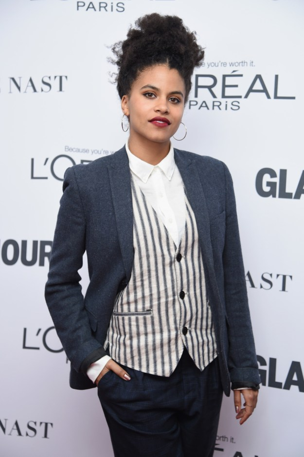 Hi, I'm Allie. Let me bring you up to speed on my life real quick...I'm IN LOVE with Zazie Beetz.