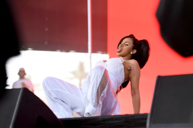 And it was this particular position that made Cardi add extra detail.