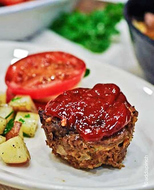 A more traditional hearty meatloaf for anyone in need of an easy dinner.