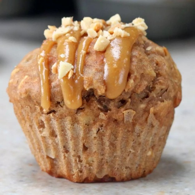 And peanut butter banana oatmeal muffins so you can consume your muffin tins the way they were ~intended~.