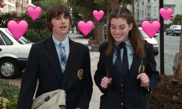 But I only have room in my heart for one Mia Thermopolis love interest and that's Michael Moscovitz 4ever, baby!!!!!