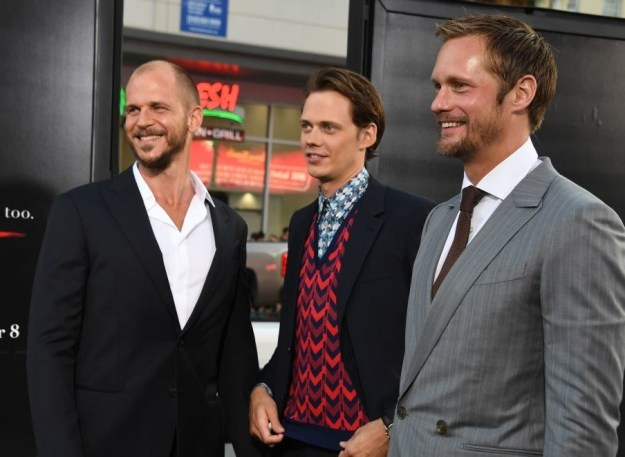 And, YUP, Gustaf is one of THOSE Skarsgårds.