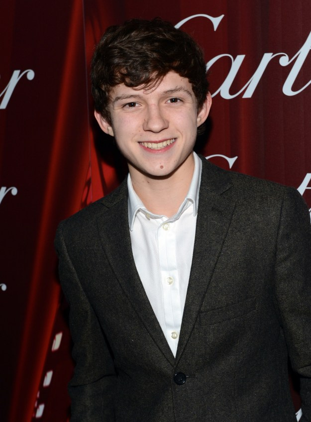 And THIS is what Tom Holland looked like a few years prior to slinging webs on the big screen!