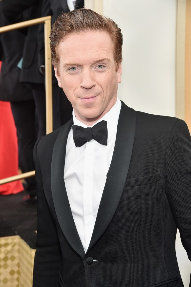 This is Damian Lewis, the English actor and star of Homeland and Billions.