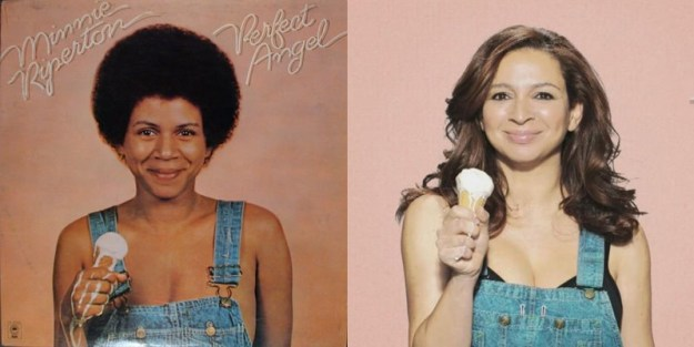 Minnie Riperton is Maya Rudolph's mom: