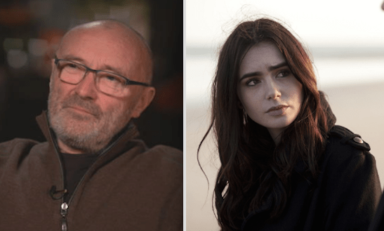 Phil Collins is Lily Collins's dad: