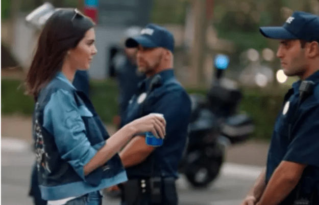 Kendall Jenner's Pepsi controversy, 2017.