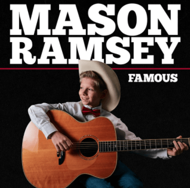 "Anyway, Mason's first song is out and it's called ""Famous."""