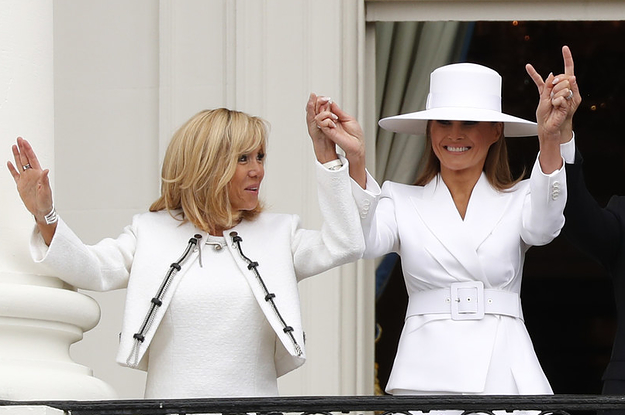 Brigitte Macron Says She Likes Melania Trump, But Feels Sorry For Her