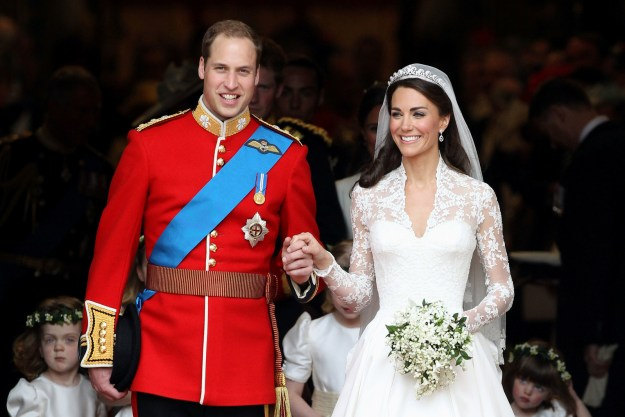 11. After their wedding on April 29, 2011, the couple officially became HRH, the Duke and Duchess of Cambridge.
