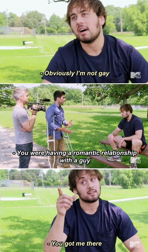 When Nev called this catfish the fuck out.
