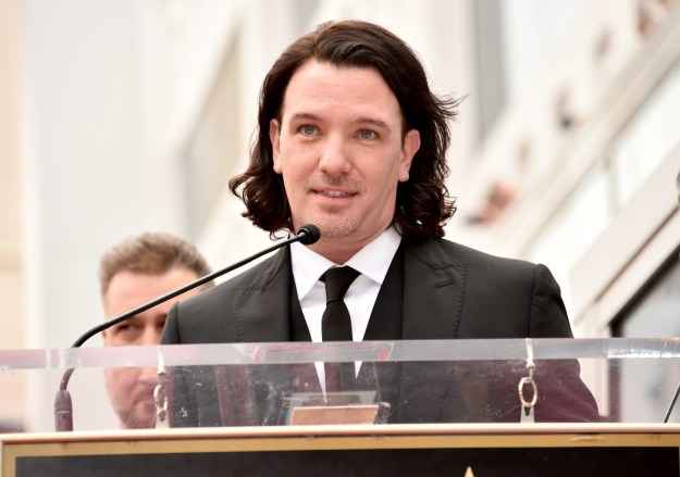 JC Chasez had this hair! LOOK. AT. IT.