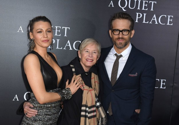 Anyway, as the reigning King of the Internet, Ryan couldn't merely leave things at that. The sequel to Ryan's clap back starts at the premiere of A Quiet Place, which Ryan attended with his mom, Tammy Reynolds, AND Blake.