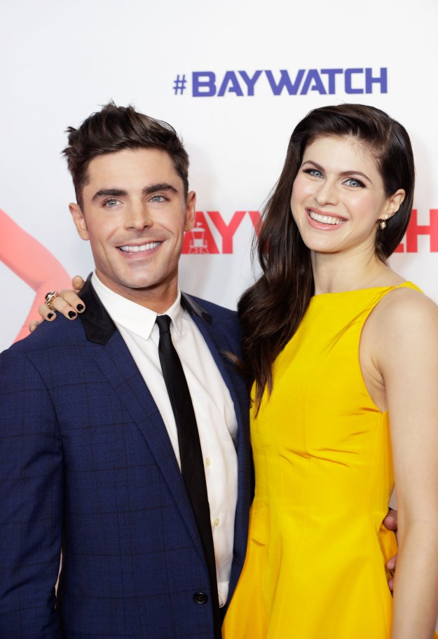 This is a story about two people who may or may not be dating — their names are Zac Efron and Alexandra Daddario.