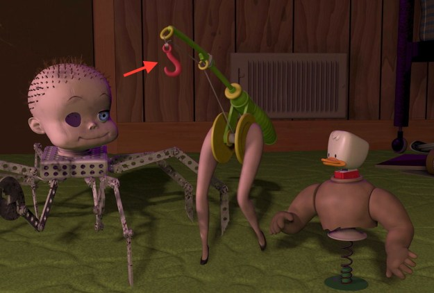 """The literal """"hooker"""" in Toy Story:"""