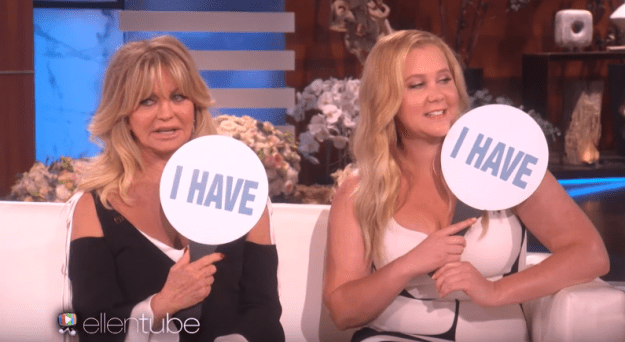 Goldie Hawn and Amy Schumer have taken naked selfies: