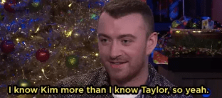 When Sam Smith picked between Taylor Swift and Kim Kardashian on Watch What Happens Live: