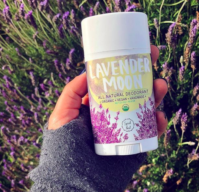 """This non-toxic, 100% natural deodorant is made from lavender essential oils. Promising review: """"I've tried a lot of natural deodorants out there, and this one actually does the job. I live in the hot, sweaty south, but I can go out, do yard work, and still smell like lavender afterwards — which is a big difference from other deodorants I've tried in the past. Now go forth and be natural."""" —Dorothea BerryPrice: $11.95"""