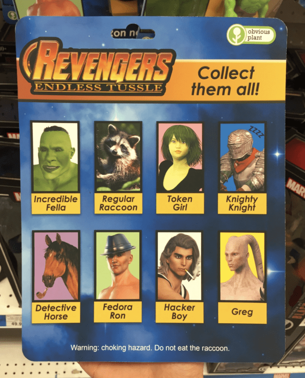 And sure, the Avengers are badass and all, but please allow me to introduce you to the newest, fiercest superhero team in the universe: The Revengers.