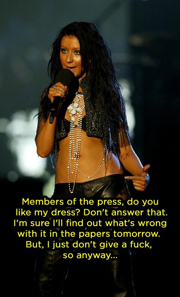 When she called out fashion critics: