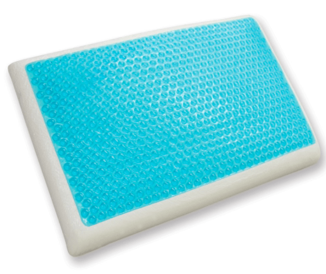 """Promising review: """"I have been searching for a pillow that works for me and finally found it. I almost can't believe how perfect it is. The foam has ideal firmness, it supports my neck while allowing my head to sink in just right. I switch from back to side sleeping and the pillow accommodates both sleeping positions. The cool gel keeps the pillow from heating up so I don't want to flip it around like I do with most pillows. I highly recommend this pillow."""" —JulieGet it from Amazon for $32.47."""