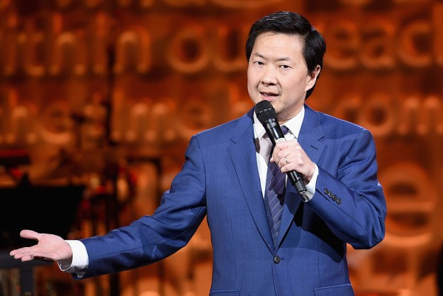 Ken Jeong was a practicing doctor.