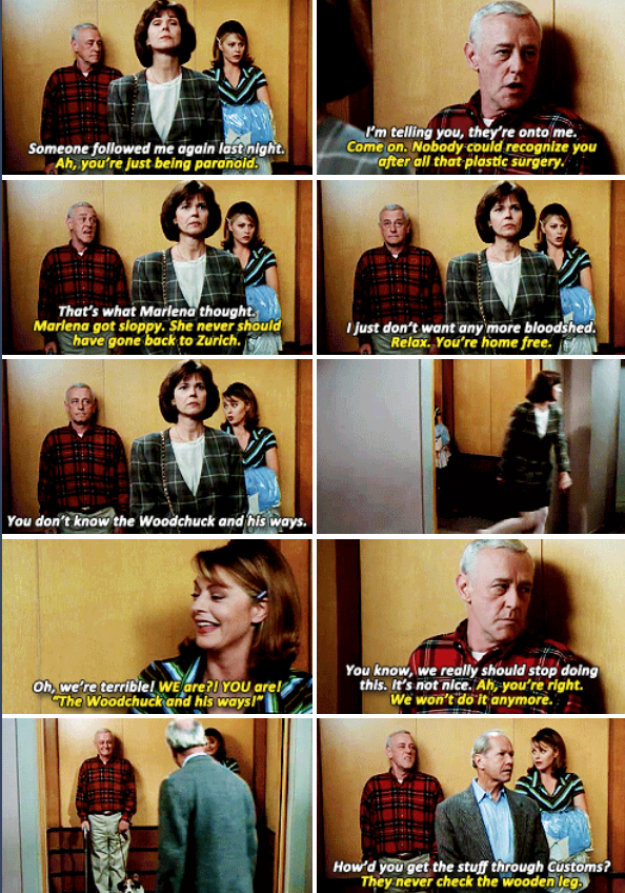When Martin and Daphne pranked their neighbors.