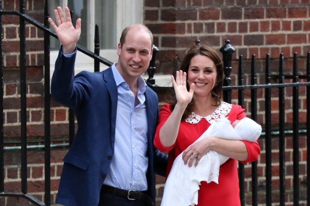 """The Duke and Duchess would like to thank members of the public for their kind messages following the birth of Prince Louis, and for Princess Charlotte's third birthday,"" Kensington Palace said in the posts on Instagram."
