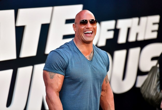 Now, I know what you're thinking, I saw The Rock in the headline. Where is my Dwayne Johnson? Well, here's a wonderful photo of him: