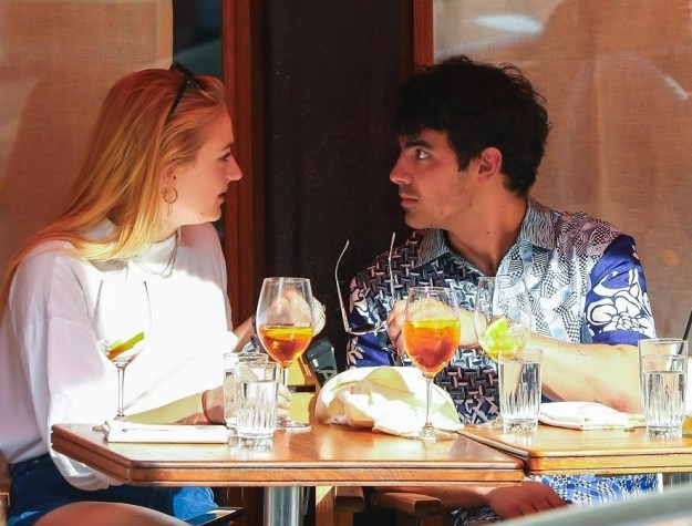 """Sophie: """"Joe, I don't even think they're looking anymore!"""""""