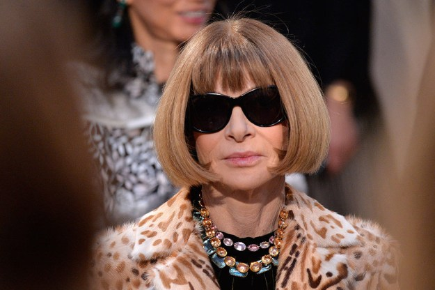 When you think of Anna Wintour, you probably picture this: