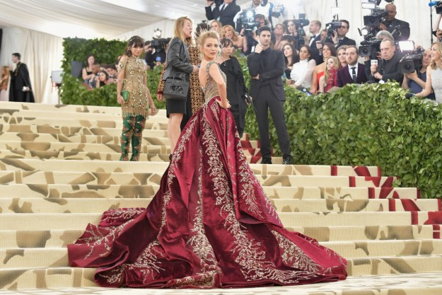 And 2018's Met Gala was no different — Blake freakin' CRUSHED IT!