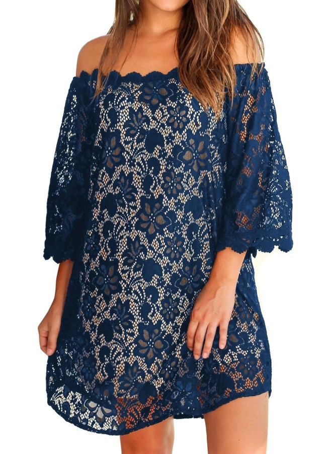 """Promising review: """"I love this dress. It's perfect for a beach wedding that I am attending and it fits comfortably"""" —CorkyGet it from Amazon for $19.99 (available in sizes S-XXL and in four colors)."""