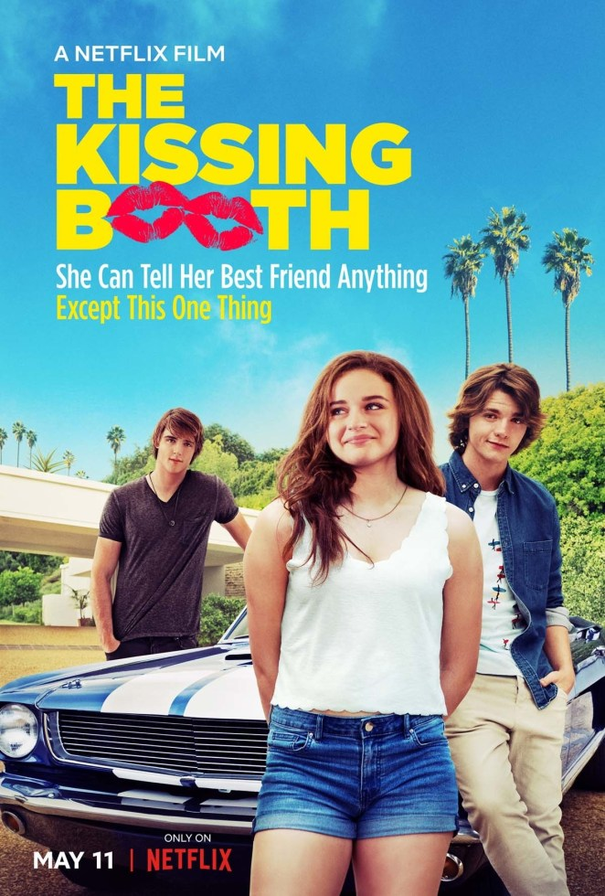 "Here's how Netflix describes the movie: ""When teenager Elle's first kiss leads to a forbidden romance with the hottest boy in high school, she risks her relationship with her best friend."""