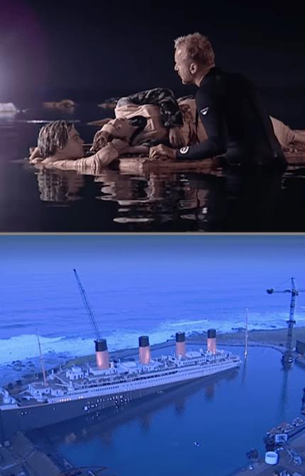 James Cameron, rose, jack, titanic, klam, bazen