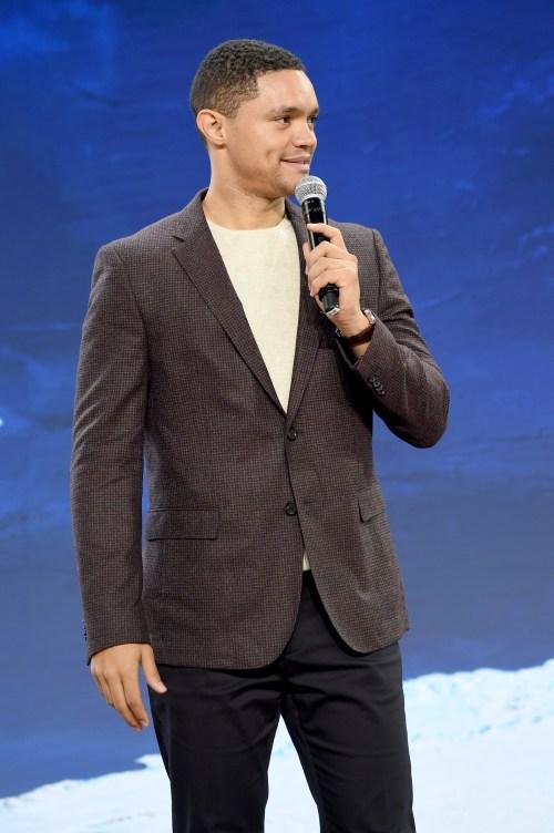 The Daily Show host Trevor Noah.