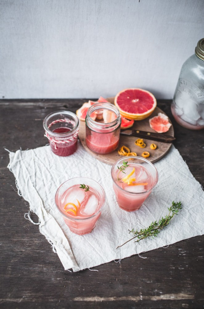 Let's be real: Even if rhubarb and grapefruit weren't a match made in heaven, I would sip this cocktail for that gorgeous coral color alone. Get the recipe here.