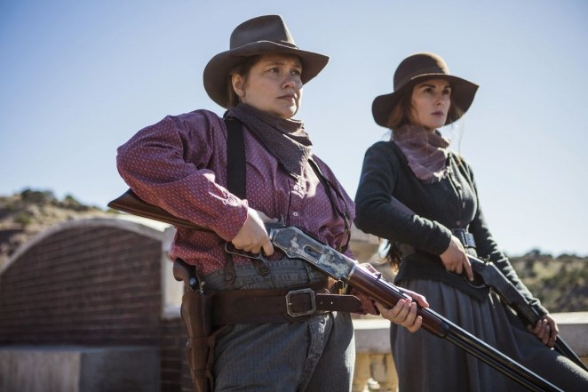 """A western drama which follows an outlaw and his violent gang.""""The acting and storyline were really well done. They were also able to bring a subtle hint of modern issues (women and black empowerment) into a western and stay true to the time period."""" – carissaharrison93Watch it on: Netflix"""