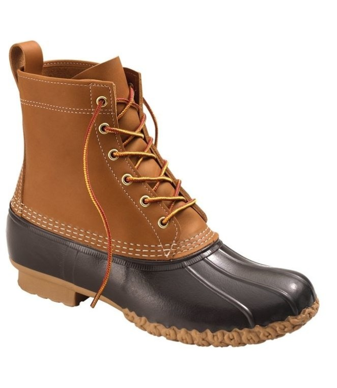 """""""L.L. Bean boots! I've had them for eight years and they're still almost like new!"""" —jessicam459241a60That eight-year number isn't an exaggeration — these are handmade in Maine and super durable, designed to last year after year. (One reviewer said she only bought new ones FOURTY-FIVE years later. 45. years.) The site and several reviewers suggest ordering a size down, because they run large. Get them from L.L. Bean: the eight-inch-ankle version for $135 (one style on sale for $114), the six-inch ankle for $125, or see all of the options (including men's) for $99+."""