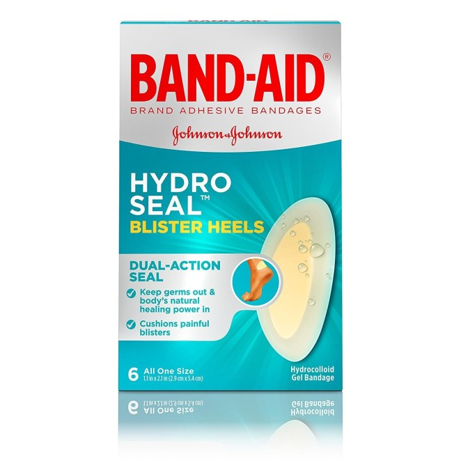 """Promising review: """"I became a fan of this style of Band-Aid when I was training for the Susan Komen three-day Breast Cancer Walk (60 miles in 3 days). While training I developed a LOT of blisters and these were my go-to so I could keep training. I don't use them just for blisters — they are great for any wound that needs a little extra time to heal."""" —Amazon CustomerGet a pack of six from Amazon for $3.97."""