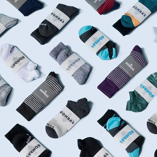 These socks have reinforced seams, a honeycomb design to hug your feet in all the right places, and an anti-microbial treatment so they don't need to be washed as often. For every pair you buy, one pair is donated to a shelter, nonprofit, or organization dedicated to helping the homeless. Get them from Bombas: women's socks start at $10.50, men's start at $10.50, and youth starts at $18.