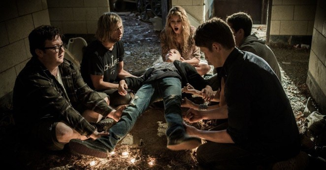 """Plot: """"An innocent game of """"Light as a Feather, Stiff as a Board"""" goes wrong when the five teen girls who played start dying off in the exact way that was predicted, forcing the survivors to figure out why they're being targeted – and whether the evil force hunting them down is one of their own.""""Starring: Liana Liberato, Haley Ramm, Ajiona Alexus, Peyton List, Jordan Rodrigues"""