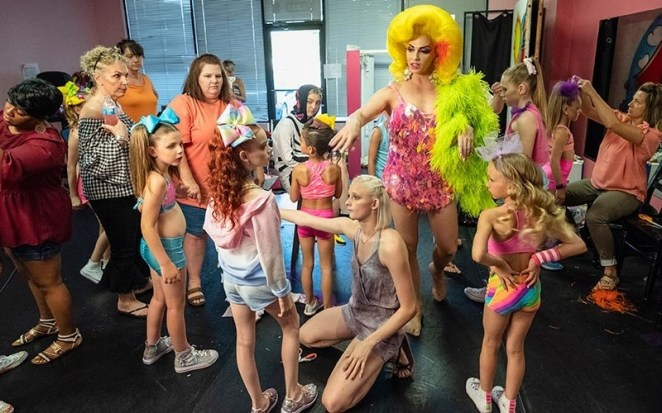 """Plot: """"Yes, he owns a successful dance studio, but Justin Johnson also slays onstage as drag superstar Alyssa Edwards; it's a fierce, full and fabulous life."""""""