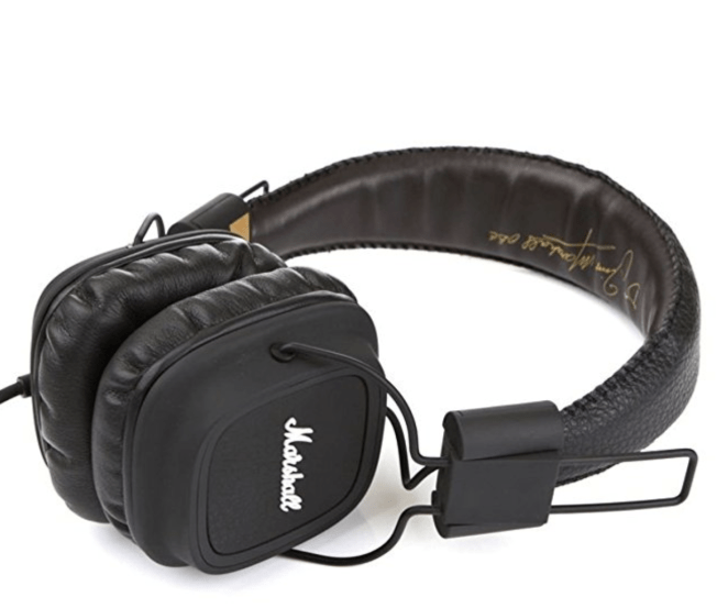 "Promising review: ""Hands down the best headphones I have ever owned. The ear pads are square shaped, which makes it a ton less painful to wear for long periods because they don't push on my glasses making my ears hurt. The sound is great, and the cord doesn't tangle too much. If the ones I have break, you can be sure I'm buying them again."" —JulianneGet them from Amazon for $37.59.And check out our top picks for the best bluetooth headphones on Angle News Reviews."