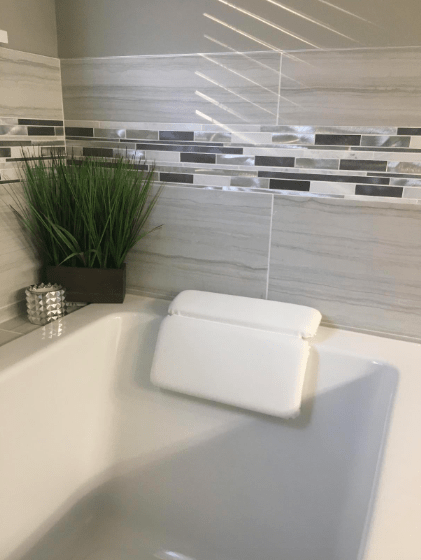 this 16 bath pillow is totally extra